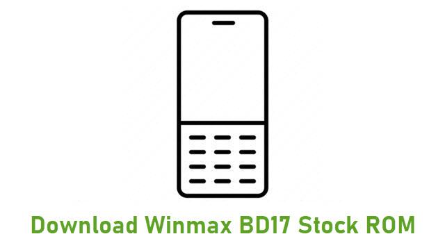 Download Winmax BD17 Stock ROM