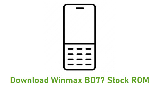 Download Winmax BD77 Stock ROM
