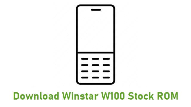 Download Winstar W100 Stock ROM