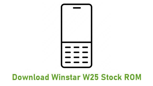Download Winstar W25 Stock ROM