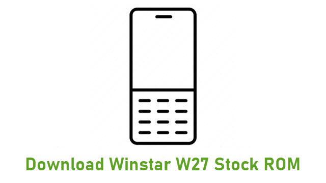 Download Winstar W27 Stock ROM