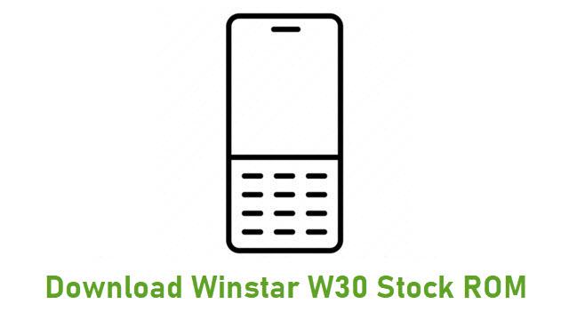 Download Winstar W30 Stock ROM