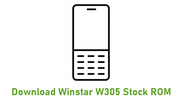 Download Winstar W305 Stock ROM
