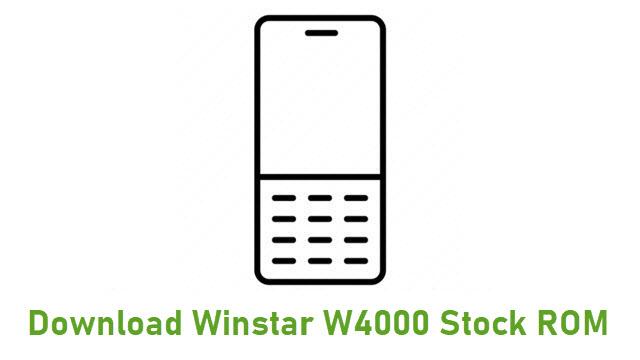 Download Winstar W4000 Stock ROM