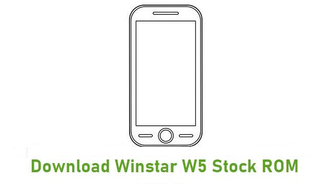 Download Winstar W5 Stock ROM