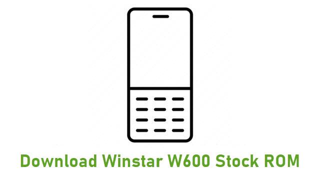 Download Winstar W600 Stock ROM