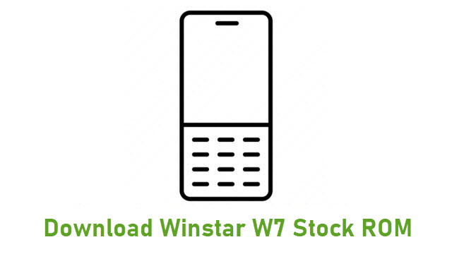 Download Winstar W7 Stock ROM