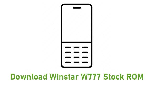 Download Winstar W777 Stock ROM