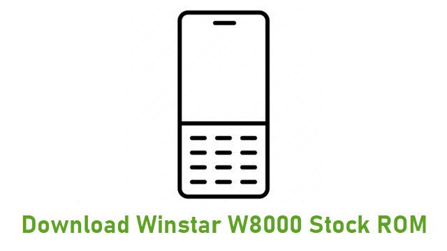 Download Winstar W8000 Stock ROM