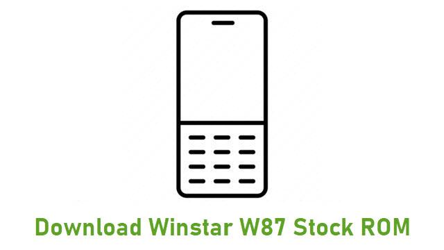 Download Winstar W87 Stock ROM