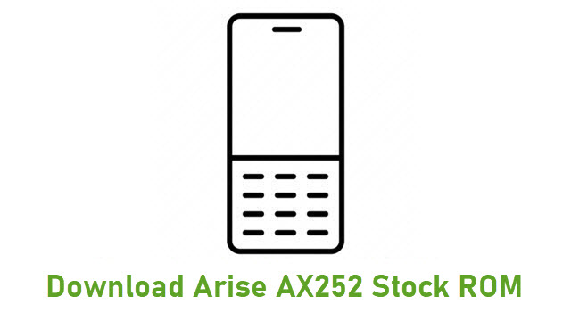 Download Arise AX252 Stock ROM