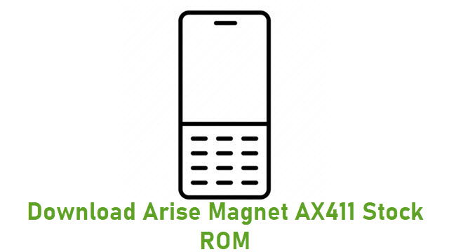 Download Arise Magnet AX411 Stock ROM