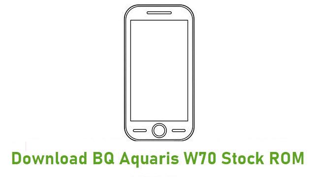 Download BQ Aquaris W70 Stock ROM