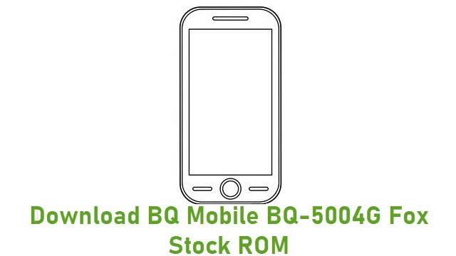 Download BQ Mobile BQ-5004G Fox Stock ROM