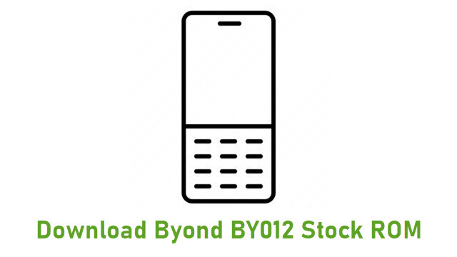 Download Byond BY012 Stock ROM