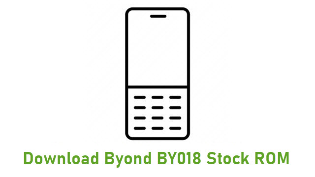 Download Byond BY018 Stock ROM