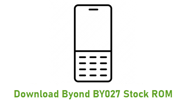 Download Byond BY027 Stock ROM
