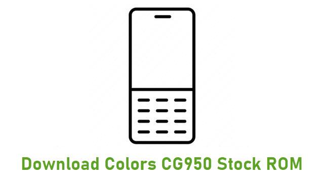 Download Colors CG950 Stock ROM