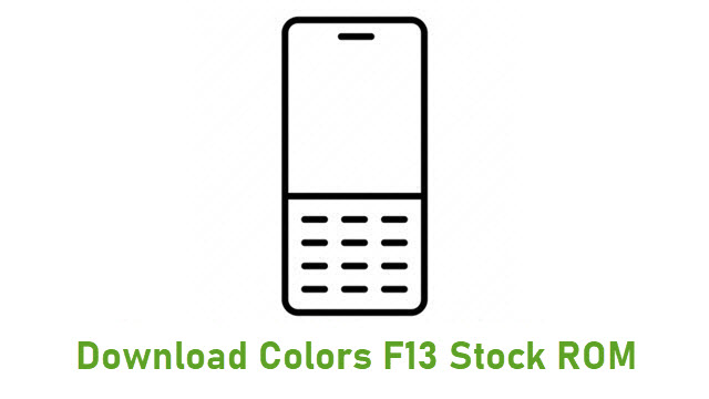 Download Colors F13 Stock ROM