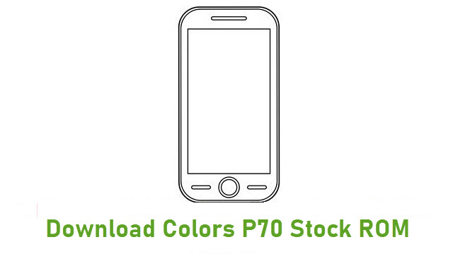 Download Colors P70 Stock ROM