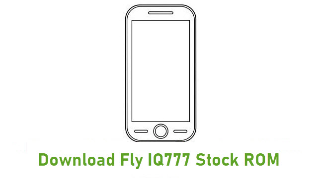Download Fly IQ777 Stock ROM