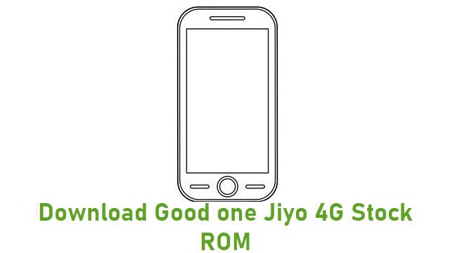Download Good one Jiyo 4G Stock ROM