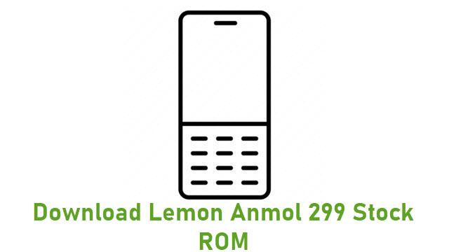 Download Lemon Anmol 299 Stock ROM