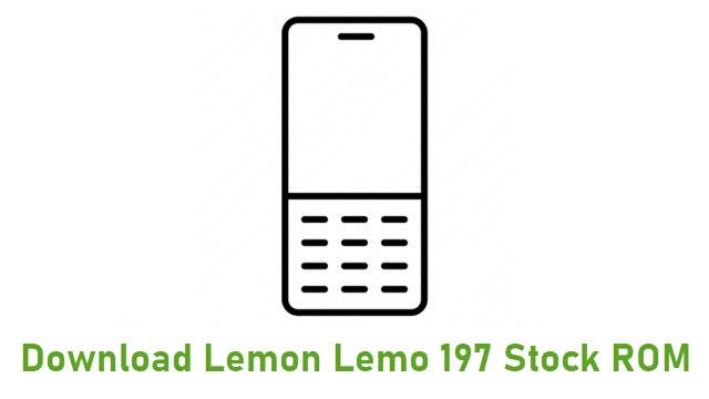 Download Lemon Lemo 197 Stock ROM