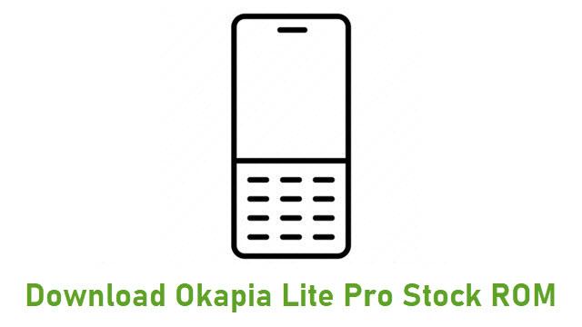 Download Okapia Lite Pro Stock ROM