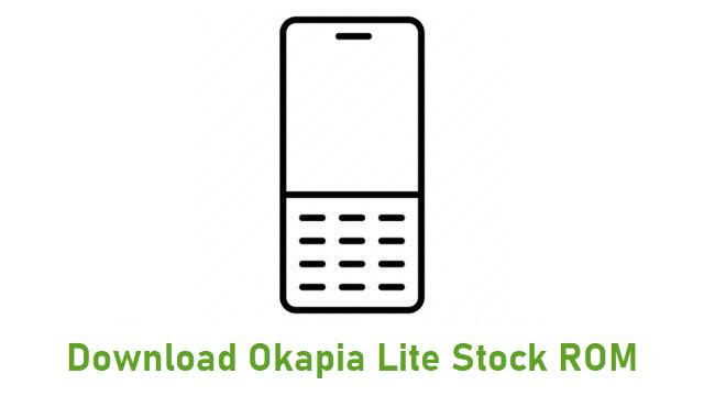 Download Okapia Lite Stock ROM