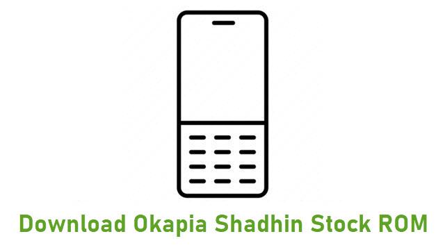 Download Okapia Shadhin Stock ROM