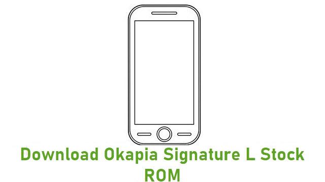 Download Okapia Signature L Stock ROM