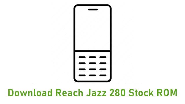 Download Reach Jazz 280 Stock ROM