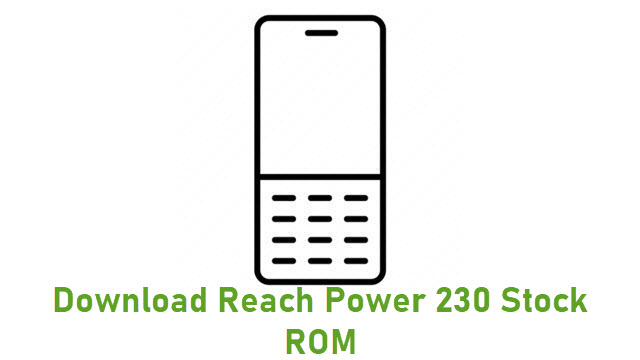Download Reach Power 230 Stock ROM