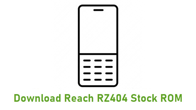 Download Reach RZ404 Stock ROM