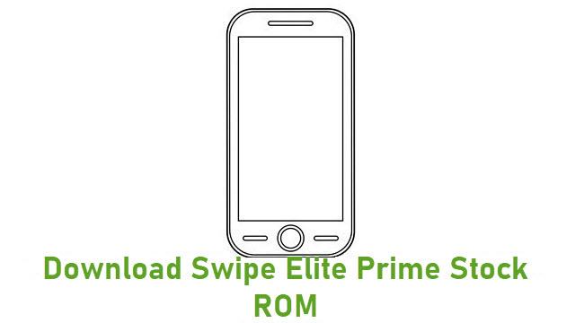 Download Swipe Elite Prime Stock ROM