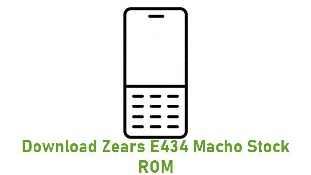 Download Zears E434 Macho Stock ROM