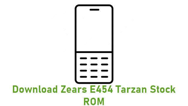 Download Zears E454 Tarzan Stock ROM